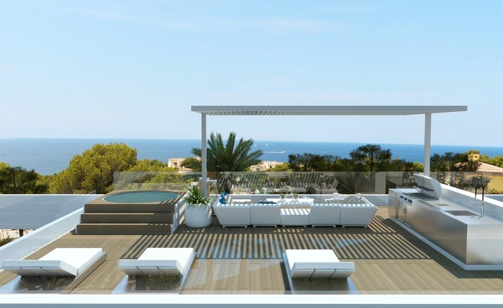 Newly build modern Villa in Nova Santa Ponsa close to the Port of Santa Ponca