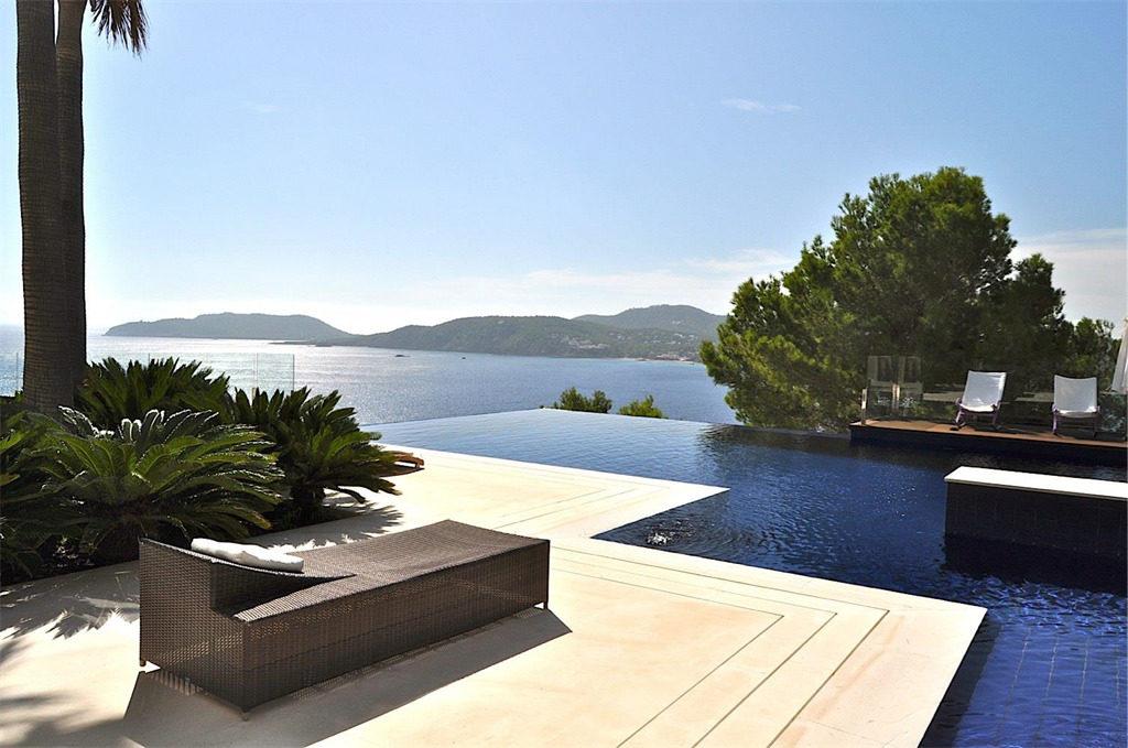 Luxury modern villa in Ibiza