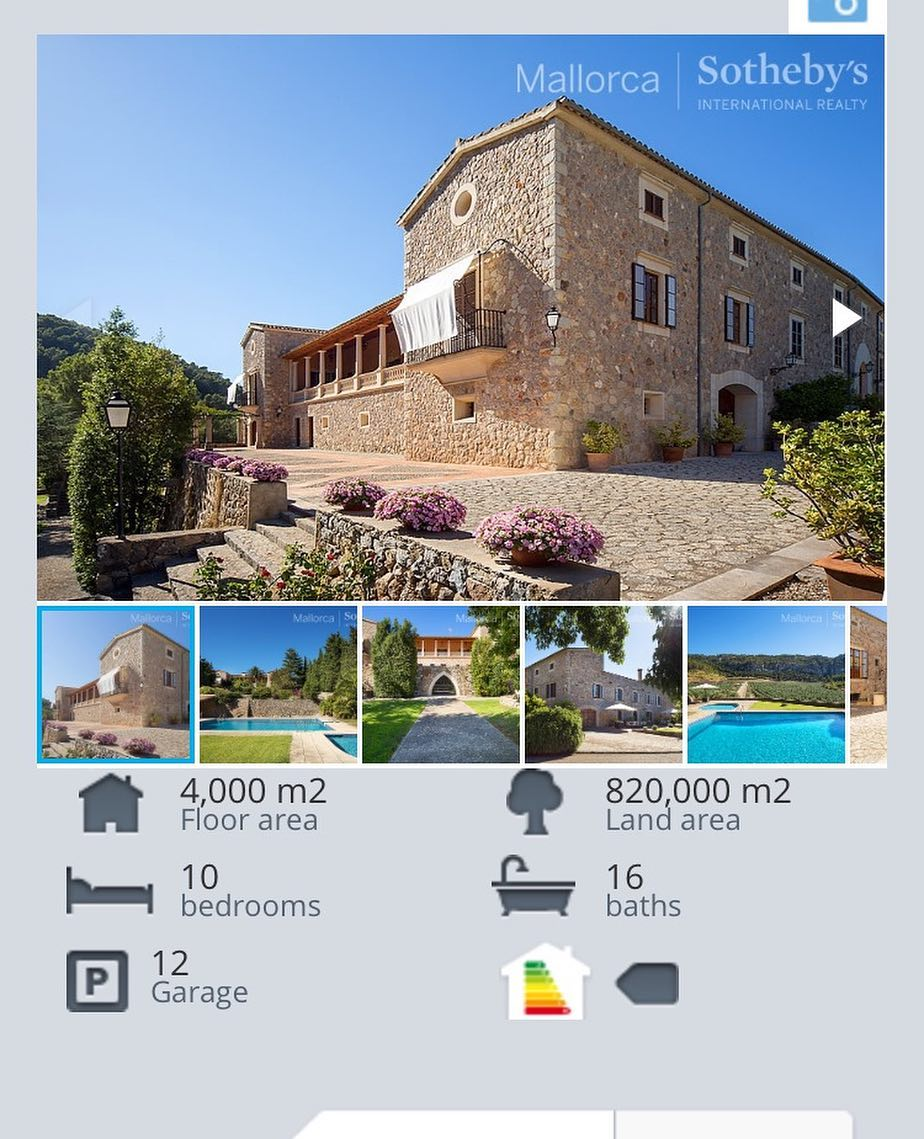 Traditional Mallorqun finca  26000000 luxuryrealestate luxurylifestyle propertymallorca majorca fincahellip